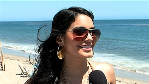 [Vanessa Hudgens Talks 'Rent' Preps, Zac Efron's 'Charlie St. Clo] Video