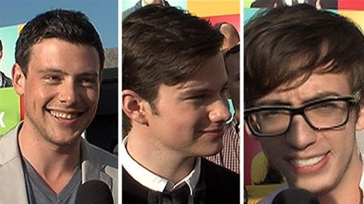 ['Glee' Guys Talk Emmys & Hosting the Teen Choice Awards]