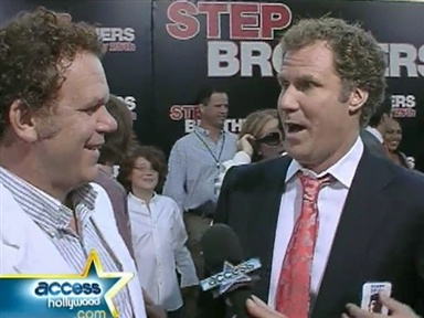 "Will Ferrell, John C. Reilly ""Brothers"" Premiere Video"