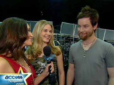 "David Cook and Kristy Lee Cook Talk ""Idol"" Tour Video"