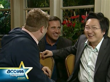 [Carell's Hilarious Prank on Masi Oka]