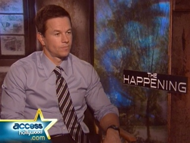 "[Wahlberg Dishes on ""The Happening""]"