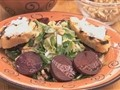 How-to make an Arugula, Beet and Walnut Salad