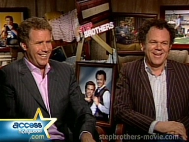 Will Ferrell, John C. Reilly Hilarity Video