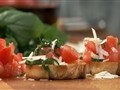 How to Make Tomato Basil Crostini