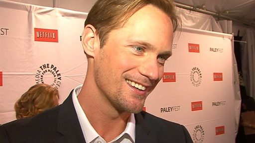 Alexander Skarsgard Shows Off His Vulnerable Side On &#39;True Blood Video