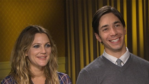 Drew Barrymore & Justin Long Go 'the Distance' Video