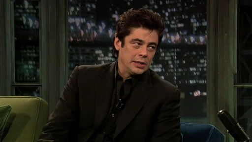 Benicio Del Toro Talks Wolfman Video