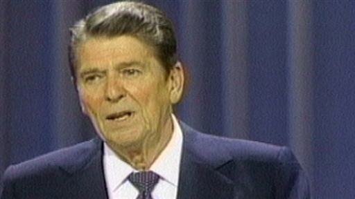 &quot;Inflation&quot; Reagan, 1984 Video