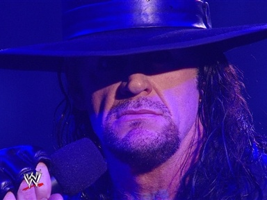 [Undertaker Coming to Unforgiven]