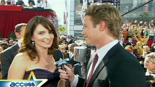 [2008 Emmys Red Carpet: Tina Fey Talks '30 Rock']