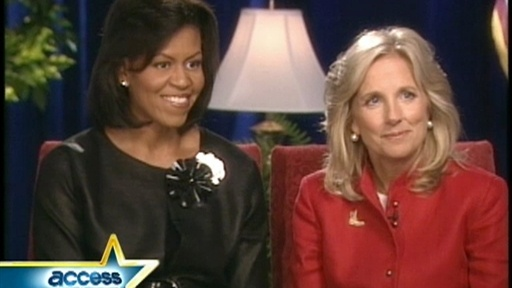 Access Preview: Michelle Obama and Jill Biden Exclusive Video