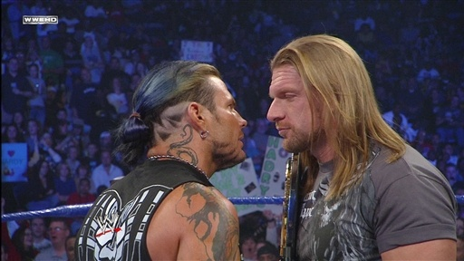 [Jeff Hardy Confronts Triple H]