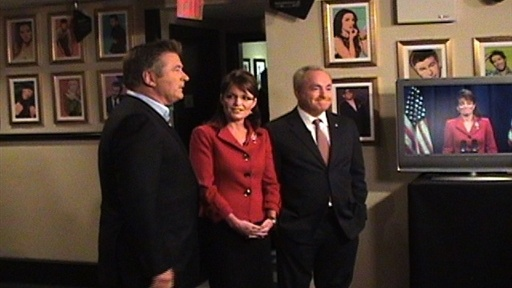 Backstage: Gov. Palin Visits Video