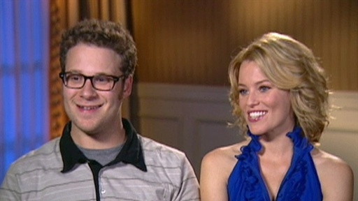 Seth Rogen and Elizabeth Banks Talk Making &#39;Porno&#39; Video