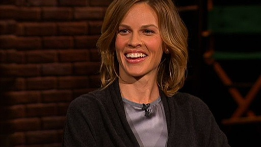 [Hilary Swank - Cutting Her Hair]