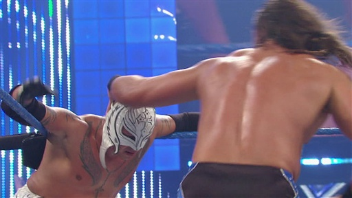 Rey Mysterio Vs. Drew McIntyre Video