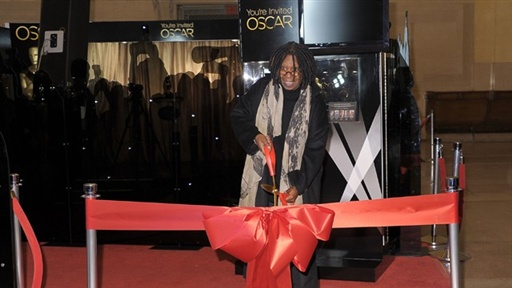 Whoopi Goldberg Welcomes Oscar to New York Video