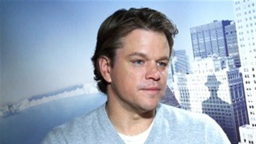 "Matt Damon and Emily Blunt on ""The Adjustment Bureau"" Video"