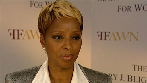 Mary J. Blige Opens Center for Women view on break.com tube online.