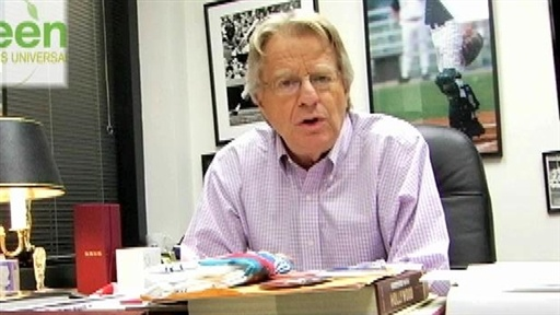 Jerry Springer Goes Green! Video