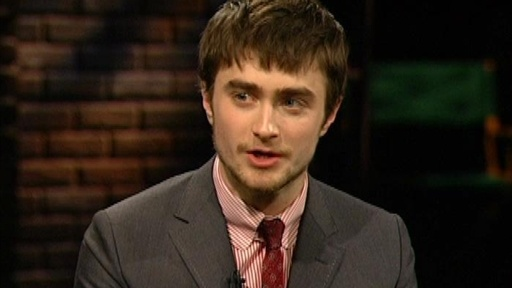 [Daniel Radcliffe: Being Shy]