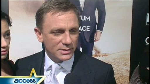 'Quantum of Solace' Tribeca Film Festival Screening Video