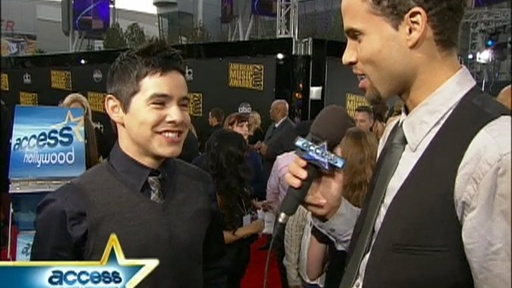 Lance Bass, David Archuleta and More At The AMAs Video