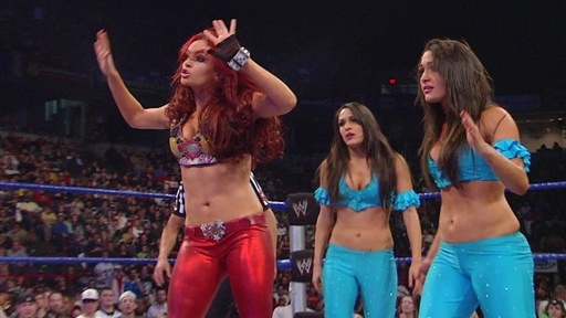 Six-Diva Tag Team Match on SmackDown Video