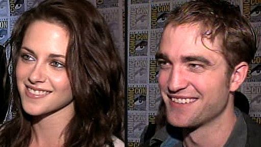 Comic-Con 2011: Robert Pattinson &amp; Kristen Stewart Video