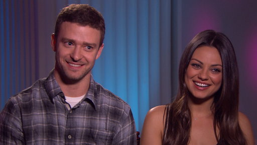 Justin Timberlake & Mila Kunis Talk 'Friends With Benefits' Video
