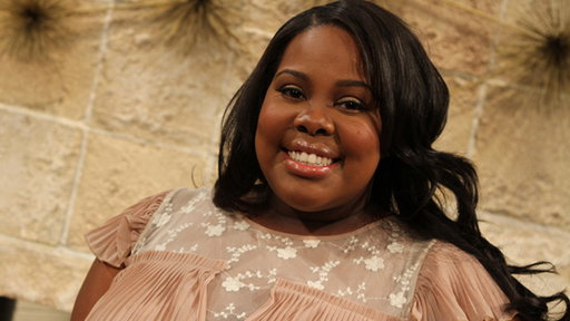 [Amber Riley On 'Glee']