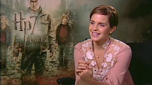Emma Watson &#39;Sad&#39; To See &#39;Harry Potter&#39; Come To an End Video