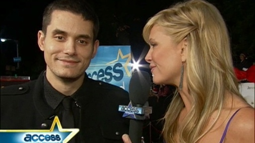 John Mayer Talks Supporting Jennifer Aniston Video