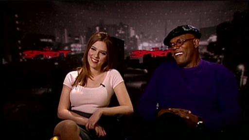 Scarlett Johansson And Samuel L. Jackson Talk 'The Spirit' Video