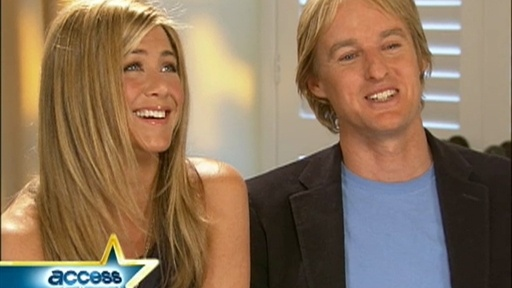 [Jennifer Aniston And Owen Wilson Talk 'Marley And Me']