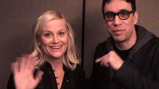 Backstage: Catching Up with Fred and Amy Video