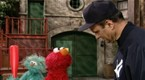 Joe Torre Talks to Elmo about Walking