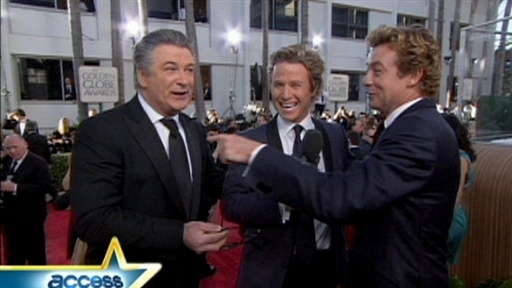 Golden Globes Red Carpet Twins? Video