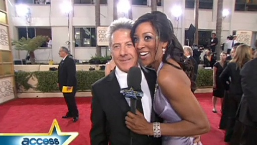 Golden Globes 2009: Is Dustin Hoffman A Ladies Man? Video