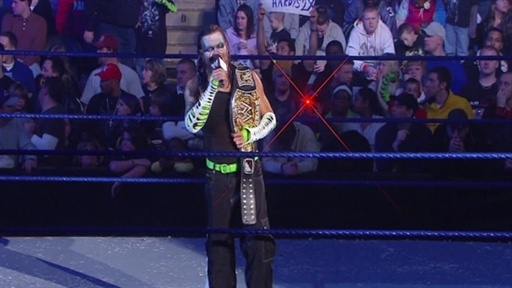 Jeff Hardy New WWE Champion Video