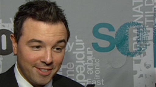 Seth MacFarlane Talks 'Family Guy' Spin-off Video