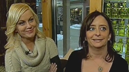 [Amy Poehler And Rachel Dratch Talk 'Spring Breakdown']
