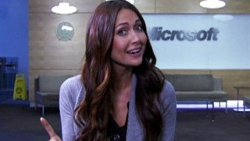 New Kinect Tech With Jessica Chobot Video
