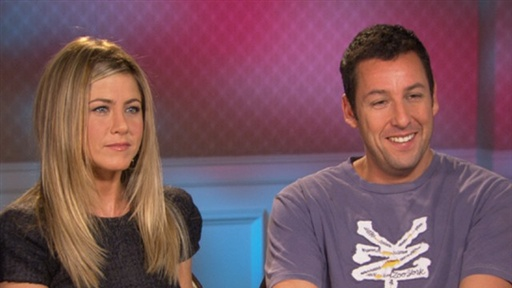 Jennifer Aniston & Adam Sandler 'Just Go With It' Video