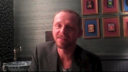 Twitter Questions: Simon Pegg Video