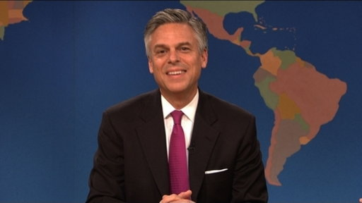 Weekend Update: Gov. Jon Huntsman Video