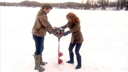 [Ice Fishing With Levi Johnston]