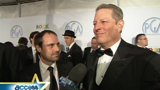 [Al Gore Has High Hopes For Barack Obama's Presidency]