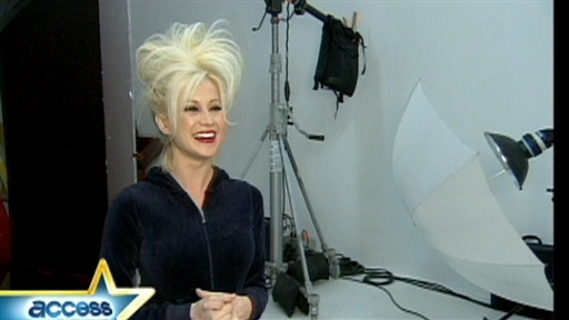 Kellie Pickler's Big Hair Video